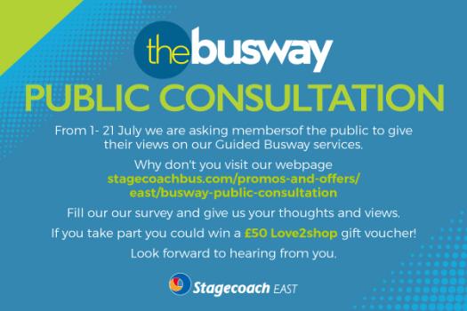 Public Consultation - Busway